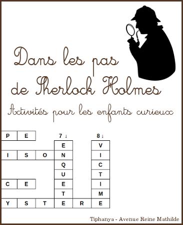 Activités sur Sherlock Holmes
