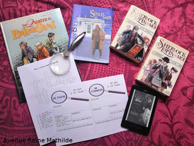Lectures jeunesse autour de Sherlock Holmes