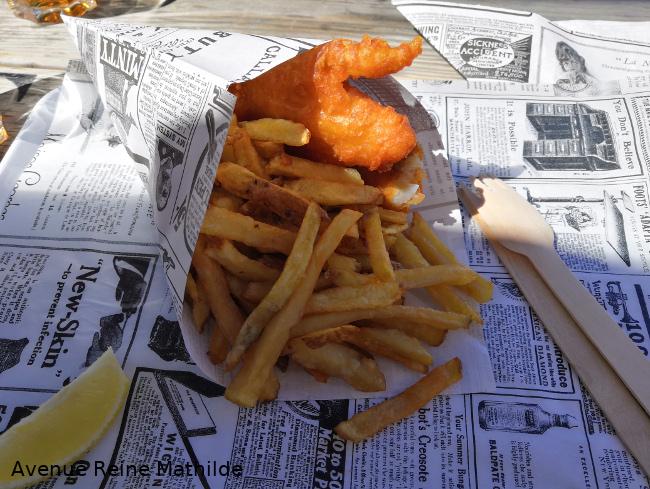 Fish & Chips à Pornic