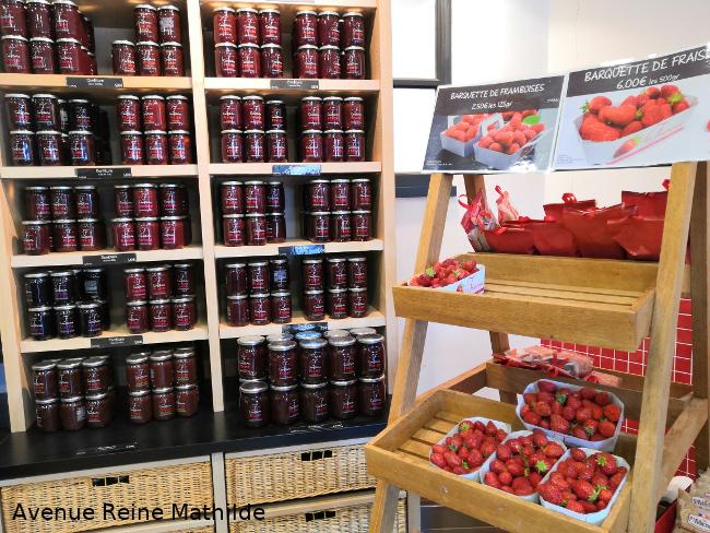 boutique la fraiseraie à Pornic
