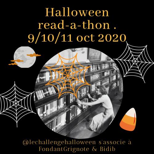 Read-a-thon Halloween 2020