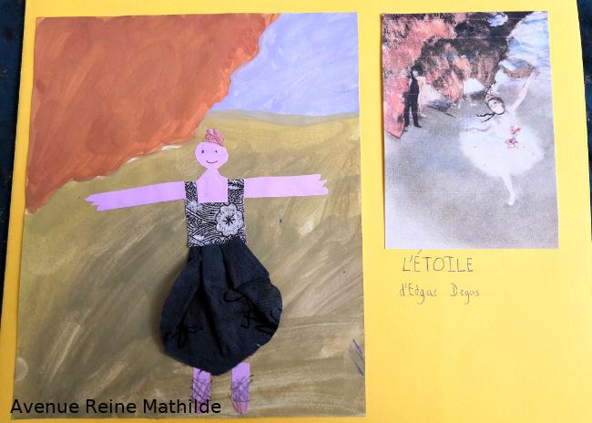 Création libre à partir de Degas