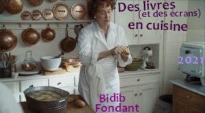 des livres en cuisine