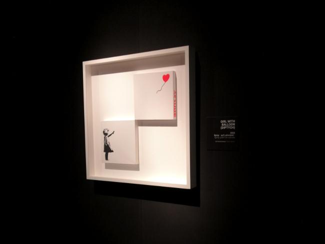 L'espoir selon Banksy à Bâle