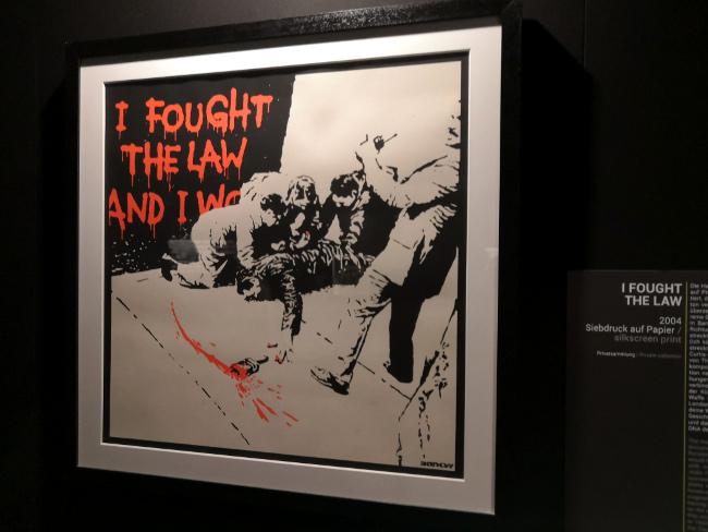 Exposition Banksy à Bâle : ses influences