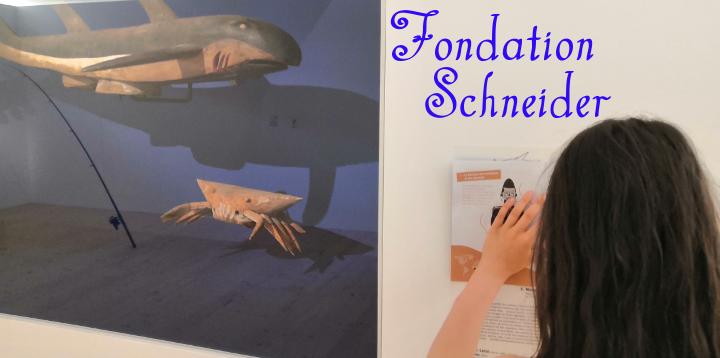visiter la fondation Schneider en famille