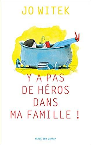 lecture à voix haute : y a pas de héros dans ma famille