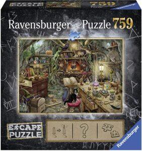 escape puzzle cuisine de sorcière